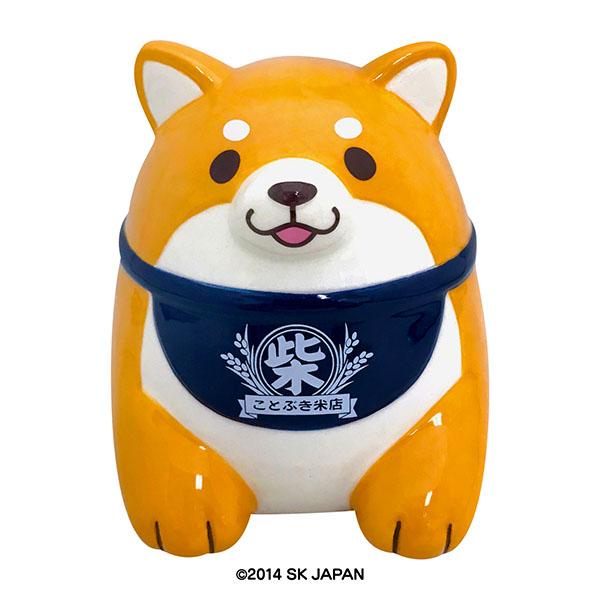 忠犬もちしば 陶器バンク(おかか)