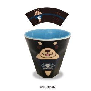 メラミンカップ ごまフェイス