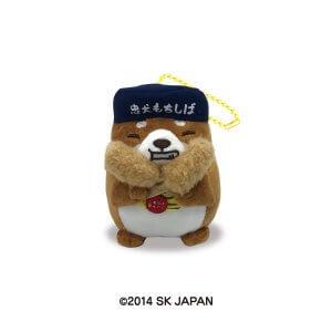 忠犬もちしば ぬいぐるみボールチェーン大阪限定おかか・串カツ
