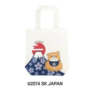 忠犬もちしばトートバッグ(おかか富士山)