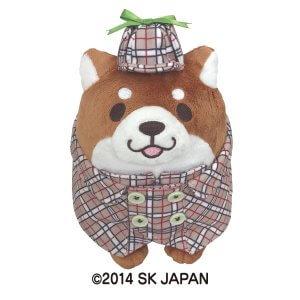 忠犬もちしばぬいぐるみS(探偵団おかか)